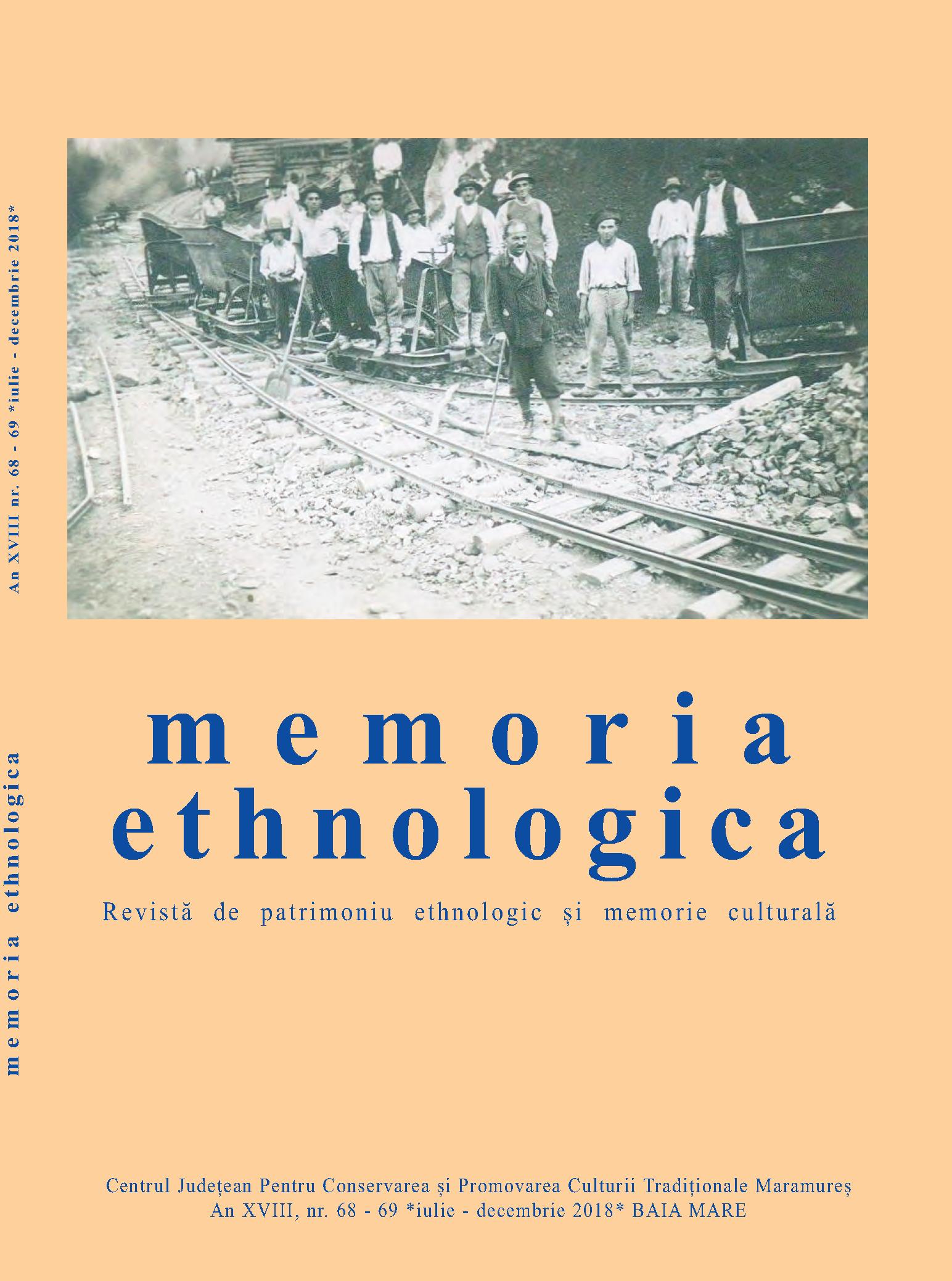 Memoria Ethnologica vol. 68-69