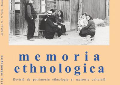 Memoria ethnologica vol. 72-73