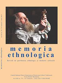 Memoria Ethnologica, nr. 78-79 (an XXI)