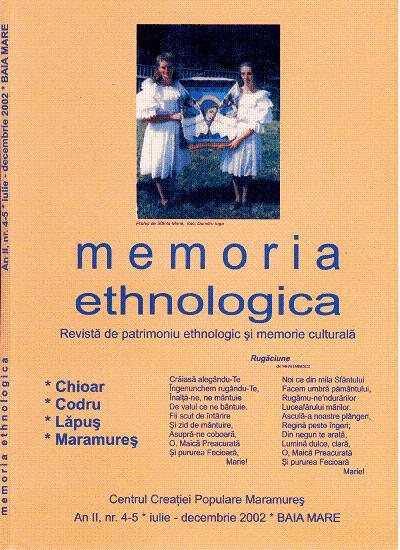 Memoria Ethnologica vol. 4-5