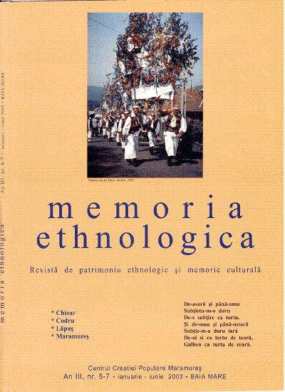 Memoria Ethnologica vol. 6-7