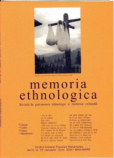 Memoria Ethnologica vol. 10