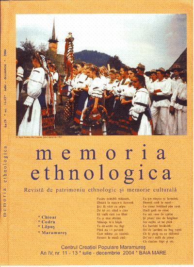 Memoria Ethnologica vol. 11-13