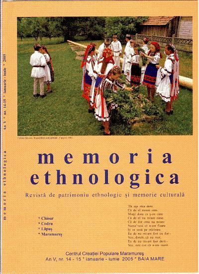 Memoria Ethnologica vol. 14-15