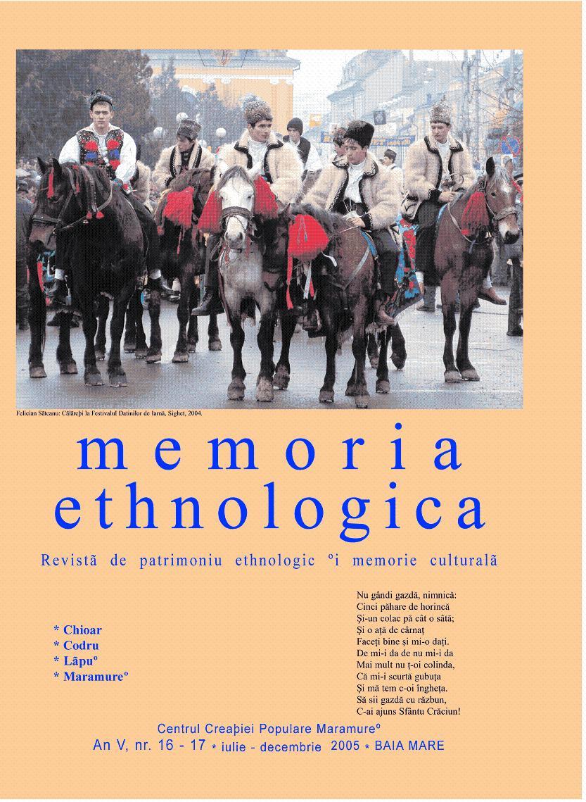 Memoria Ethnologica vol. 16-17
