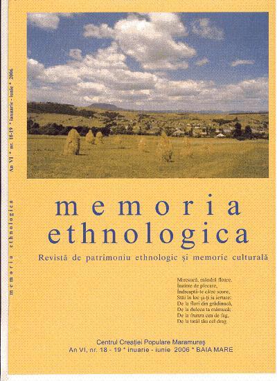 Memoria Ethnologica vol. 18-19