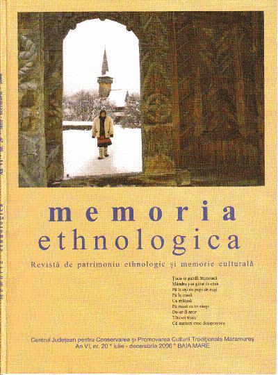 Memoria Ethnologica vol. 20