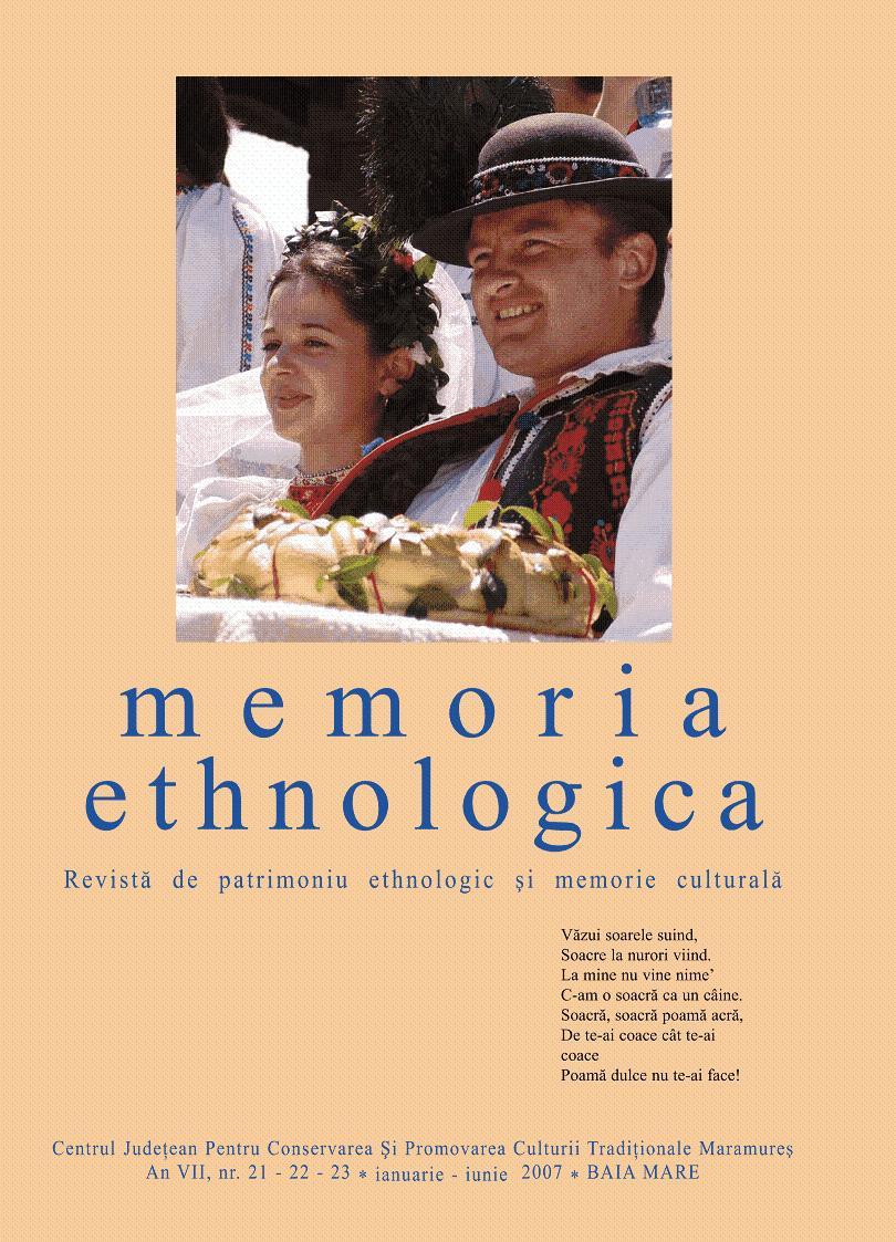Memoria Ethnologica vol. 21-23