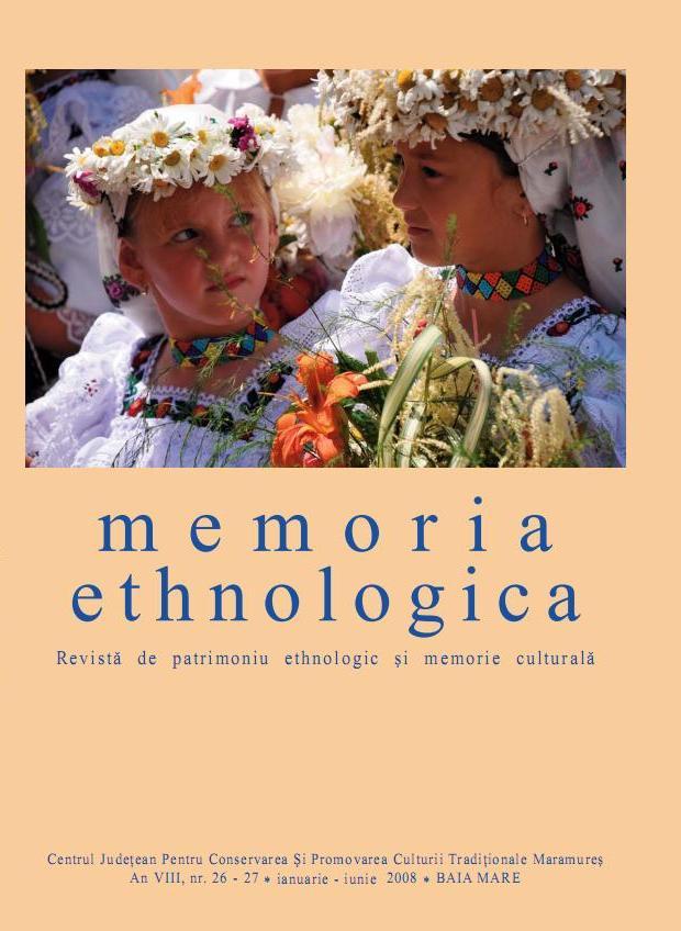 Memoria Ethnologica vol. 26-27