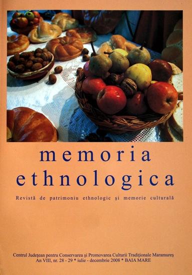 Memoria Ethnologica vol. 28-29