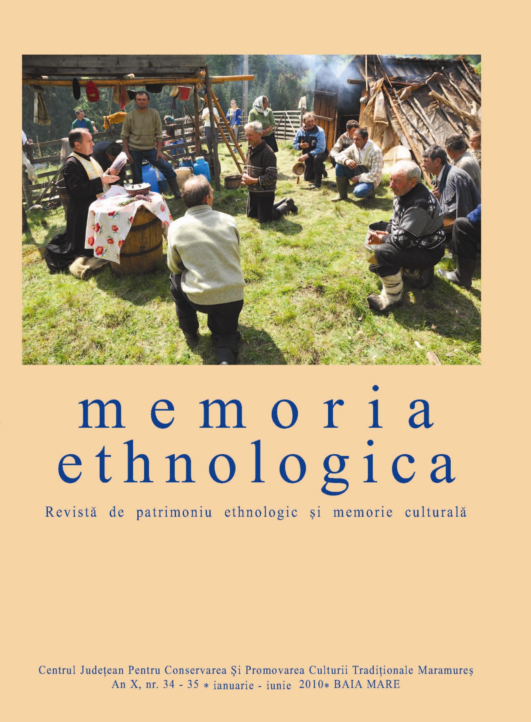 Memoria Ethnologica vol. 34-35