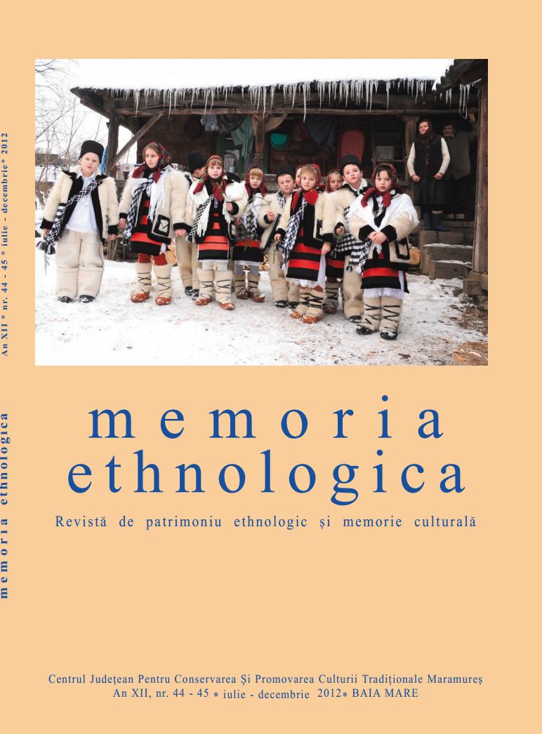Memoria Ethnologica vol. 44-45